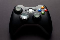 Regulador del juego video Foto de archivo