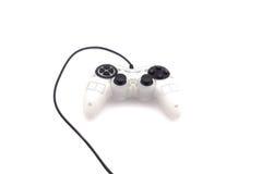 Regulador del juego video aislado en el fondo blanco Foto de archivo libre de regalías