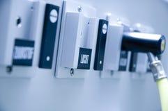 Regulador del oxígeno Fotografía de archivo libre de regalías