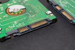 Regulador del sata de la unidad de disco duro Fotografía de archivo libre de regalías