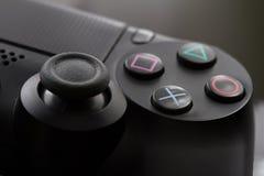 Regulador del videojuego de la consola fotos de archivo libres de regalías