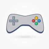 Regulador del videojuego del ordenador Imágenes de archivo libres de regalías
