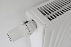 Regulador do radiador ajustado fora do detalhe Fotografia de Stock Royalty Free