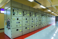 Regulador eléctrico Fotos de archivo libres de regalías