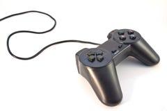 Regulador negro del juego aislado Fotografía de archivo
