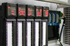 Regulador programable de la lógica Imágenes de archivo libres de regalías