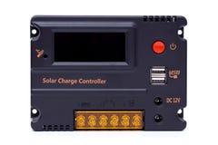 regulador solar de la carga fotografía de archivo