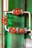 Reguladores de presión Fotos de archivo