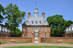 Reguladores palácio, Williamsburg Fotografia de Stock