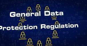 Regulamento geral da proteção de dados vídeos de arquivo