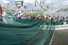 Regulamento marítimo de Indonésia foto de stock royalty free