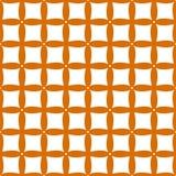 Regular abstract seamless pattern. Regular abstract seamless pattern in simple style Royalty Free Stock Photography
