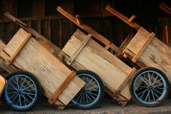 Regular carts Royalty Free Stock Images
