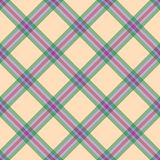 Regular checked seamless pattern. Checked seamless pattern for printing on textile, fabric, paper Stock Photography
