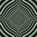Regular concentric Rings in Monochrome. Digital abstract image with a concentric circle design in black and white. Stock Photography