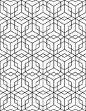 Regular contrast textured endless pattern with cubes, continuous Stock Photography