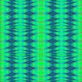 Regular diamond pattern blue green turquoise purple, vertically Royalty Free Stock Photo