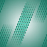 Regular diamond pattern in pale green stripes diagonally blurred Stock Photo