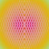 Regular diamond pattern yellow orange pink violet dimensioal Royalty Free Stock Photography