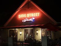 Side Street Grill, Memphis, Tennessee stock photo