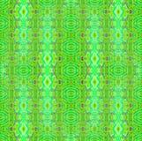 Regular ellipses and diamond pattern light green turquoise purple vertically Stock Photography
