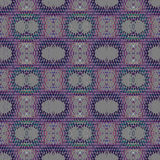 Regular ellipses and diamond pattern violet purple gray Royalty Free Stock Images