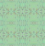 Regular futuristic  squares pattern green gray black diagonally. Abstract geometric dark background in squares dimensionally. Regular futuristic  pattern green Stock Photo