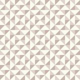 Abstract geometric pattern, patchwork quilting. Regular geometric pattern inspired by traditional patchwork duvet quilting. Only 3 colors - easy to recolor Stock Photo