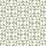 Abstract geometric pattern, patchwork quilting. Regular geometric pattern inspired by traditional patchwork duvet quilting. Only 3 colors - easy to recolor Royalty Free Stock Photos