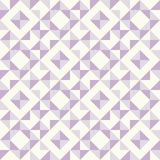 Abstract geometric pattern, patchwork quilting. Regular geometric pattern inspired by traditional patchwork duvet quilting. Only 3 colors - easy to recolor Royalty Free Stock Image