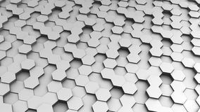 Regular hexagon background Royalty Free Stock Photo
