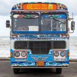 Regular public bus in Sri Lanka. Stock Photography