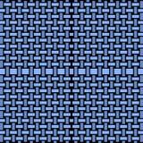 Regular rectangles pattern blue gray black netting Royalty Free Stock Image