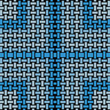 Regular rectangles pattern light gray and blue shades with black netting Royalty Free Stock Image