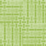 Regular rectangles and stripes pattern light green beige shifted netting Stock Image