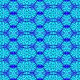 Regular seamless diamond and octagon pattern turquoise purple Stock Photos