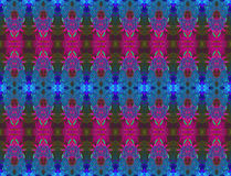Regular seamless ellipses pattern blue purple violet olive green Royalty Free Stock Photos