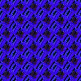 Regular seamless intricate netting pattern purple, dark brown, dark blue and black diagonally. Royalty Free Stock Images
