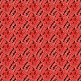 Regular seamless intricate pattern red brown pink diagonally. Abstract geometric seamless background. Regular intricate pattern pastel red, brown and pink Stock Photos