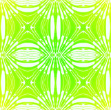 Regular seamless ornaments lime green white. Abstract geometric seamless retro background. Regular ellipses ornaments in light green shades and white, delicate Royalty Free Stock Photography