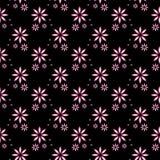 Regular seamless pattern. Seamless regular pattern with floral design Stock Image