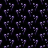 Regular seamless pattern. Seamless regular pattern with floral design Royalty Free Stock Images
