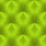 Regular triangles pattern bright green and olive green shifted Stock Photography