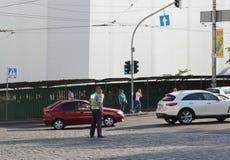 Regulation of traffic Stock Photos