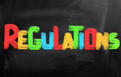Regulations Concept Royalty Free Stock Photos