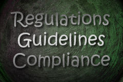 Regulations Concept Stock Photography
