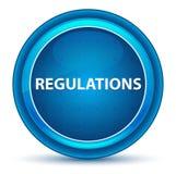 Regulations Eyeball Blue Round Button vector illustration