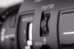 Regulator. Of a videocamera's shutter Royalty Free Stock Image