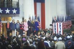 Regulator Bill Clinton på regulatorherrgården Arkivfoto