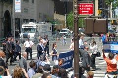 Regulator Cuomo på fira Israel Parade Royaltyfria Foton